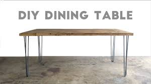 how to build a dining table  modern builds  ep   youtube