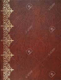 brown leather book cover stock photo 25108558