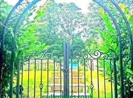 garden archway for wrought iron en arch for rod archways hot ing bench with