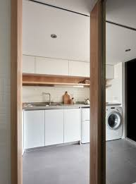 Efficiency Kitchen 22 Sqm Efficiency Apartment Living Plan Layout Design Idea Home