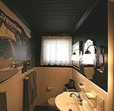 sagging tin ceiling tiles bathroom: reface sagging tin ceiling tiles bathroom
