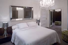 Beveled Mirror In Bedroom