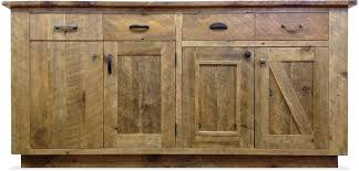 Petit Borendy Reclaimed Wood 3 Drawer 3 Door Accent Cabinet