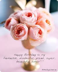 Happy Birthday Beautiful Sister Quotes Best Of Happy Birthday Wishes For Younger Sister And Elder Sister