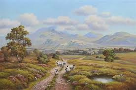 TRANQUILITY IN THE MOURNES by Wendy Reeves on artnet