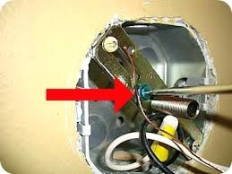 install lighting fixture. How To Install Ceiling Light Fixture Just Make Sure The New Lighting Fixtures Ground Wire Is E