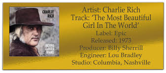 Classic Tracks Charlie Rich The Most Beautiful Girl In The World