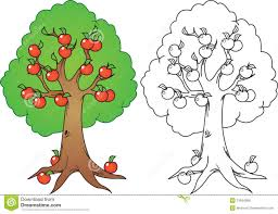 apple tree clipart black and white. apple tree clip art 23 clipart black and white l