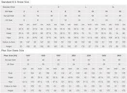 Prom Dress Measurement Chart Fashion Dresses