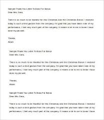 Thank You Letter To Boss - 6+ Free Word, Pdf Documents Download ...
