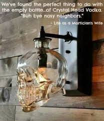 How To Decorate Empty Liquor Bottles The Stylish Guide to Decorating With Skulls Liquor bottles 68