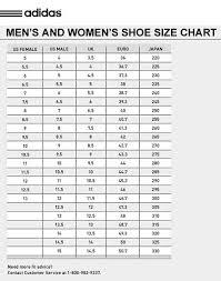 Size Chart Distrisneaks