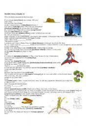 english worksheet fairy tales stories the little prince past english worksheet the little prince