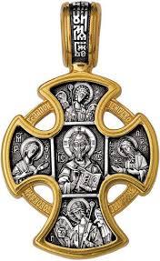Серебряный православный <b>крестик</b> без распятия <b>Акимов</b> 101.028