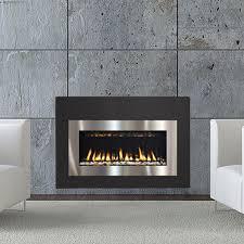 insertcontemporary gas insert fireplace