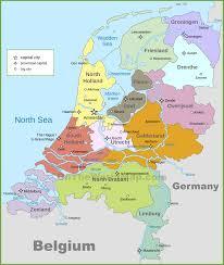 Cartina Dell Olanda Politica Tomveelers