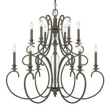 amazing home artistic 16 light chandeliers at hampton bay allure antique silver chandelier 14586 026