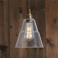 style industrial glass pendant light thea vintage industrial glass pendant light antique brass