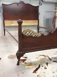 odd furniture pieces. Mismatched-Victorian-Bed-Before Odd Furniture Pieces B