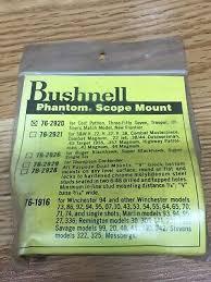Bushnell Phantom Scope Mount New Old Stock 76 2928 See