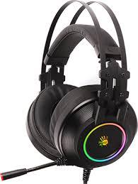 <b>Аудио гарнитура игровая проводная</b> A4Tech Bloody G528C черный