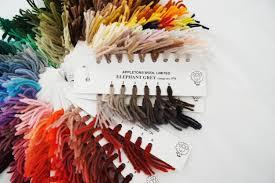 Appletons Wool Shade Card
