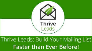 Image result for Thrive Leads affiliate account