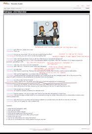 dialogue job interview level b teacher ackie english dialogue job interview level b teacher ackie