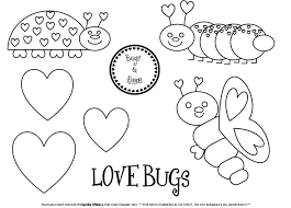 fe983d5fa08117694169a50b88f66d38 love bugs pictures to print 121 best images about valentine's ideas on pinterest valentines on love bug printable