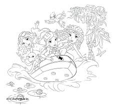 Lego Friends Coloring Pages Printable Free Friends Coloring Pages