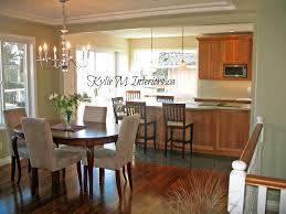 Kitchen And Dining Room Layout Kitchen Dinning Room Dining Room Walls Wall Decor Rooms Shaped