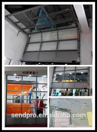gallery of roll up glass garage doors awe aluminum full view on restaurant home interior 24