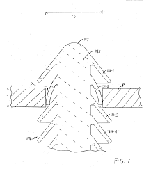 Patent us20060239796 cable tie with fir tree type fastener fuel line fasteners wiring harness tree fastener