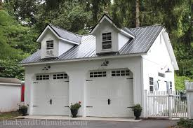 garages large storage multi car backyard unlimited php metal roof gable trim two story garden shed