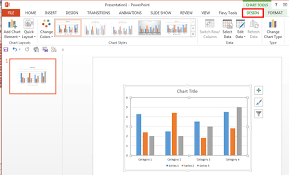 Chart Data Table In Powerpoint 2013 For Windows