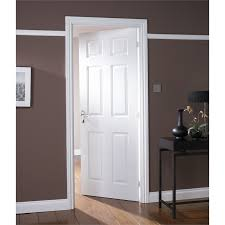 6 panel white interior doors. Colonial 6 Panel White Painted Internal Door - 762mm Wide Interior Doors O