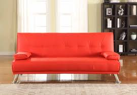 milan red sofa bed