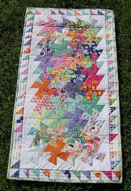 Flic- Flac Twister quilt...I like the way this looks...would love ... & Lil Twister quilt using a charm pack of Kate Spain Terrain and Kona White Adamdwight.com