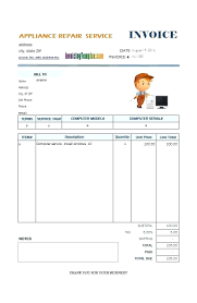 Maintenance Invoice Template Handyman Invoice Template 10
