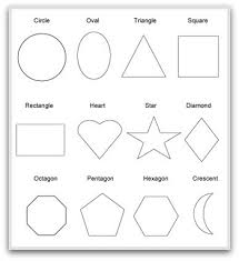 <b>Geometric</b> Shapes To Print, Cut, Color and Fold
