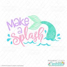 20 Free Mermaid Svg Files For Your Summer Craft Projects