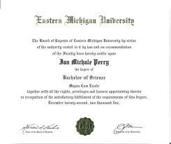 Diploma Of Bachelors Science Emu