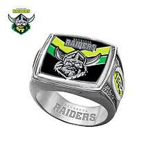 nrl canberra raiders men s sterling silver ring on canberra raiders wall art with nrl canberra raiders men s sterling silver ring the bradford exchange