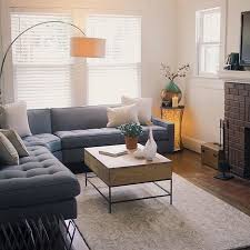 Overarching Lamp, Storage Coffee Table, Vines Rug | West Elm   Not Sure How Photo Gallery