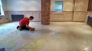 vinyl plank flooring on concrete basement unique carpet tiles waterproof global interior tile for floors how