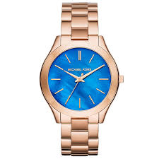 michael kors watches designer watches ernest jones michael kors slim runway ladies rose gold tone watch product number 4424301