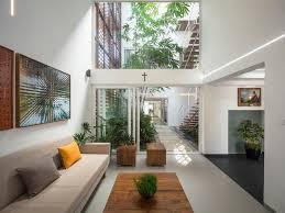 Outdoor Office Design Ideas A Gorgeous Home Split By A Covered Garden Atrium