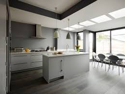 modern white and gray kitchen. 30 Gorgeous Grey And White Kitchens That Get Their Mix Right Modern Gray Kitchen H