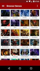 hero picker for dota 2 1 1 3 apk download android entertainment apps