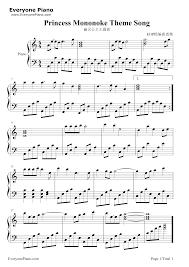 Light Of The Seven Piano Notes The Light Princess Sheet Music Pogot Bietthunghiduong Co